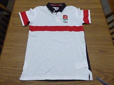RFU England Long Sleeved Juniors Rugby Jersey Size 13yrs Excellent Pre  Owned! 0e40b5dc8