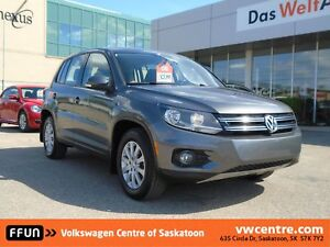 2015 Volkswagen Tiguan Trendline CPO Certified, Bluetooth, Sa...