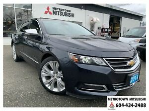 2014 Chevrolet Impala 2LZ; Local BC vehicle & no accidents!