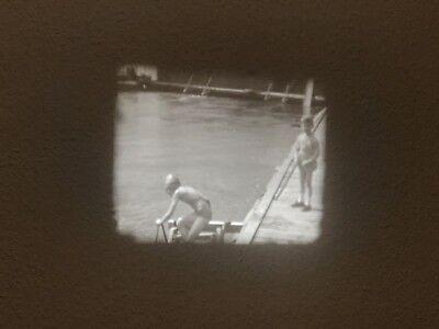 16mm Privatfilm Um 1930 Auto Ausflug Camping Familie #5 Technik & Photographica Film & Bildprojektion