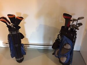 Couple's golf set (both right handed)