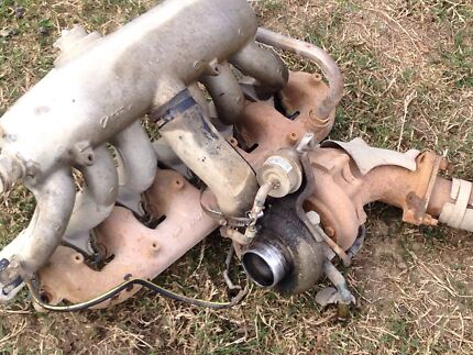 NISSAN PATROL GQ  TURBO CHARGER C/W MANIFOLDS OFF A 97 MODEL GQ 2.8Td Thornton Maitland Area Preview