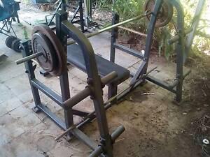 Home Gym Bench Press Alexandra Headland Maroochydore Area Preview