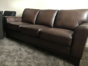 Leather Sofa - BRAND NEW