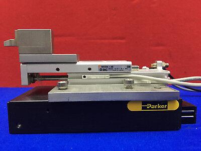 Smc Mxs-40 Cylinder Slide And Parker 4701 Slide