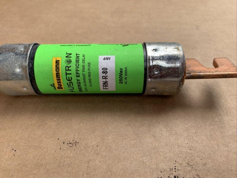 NEW STYLE BUSSMANN FUSETRON FRN-R-80 80A 80 AMP FUSE New