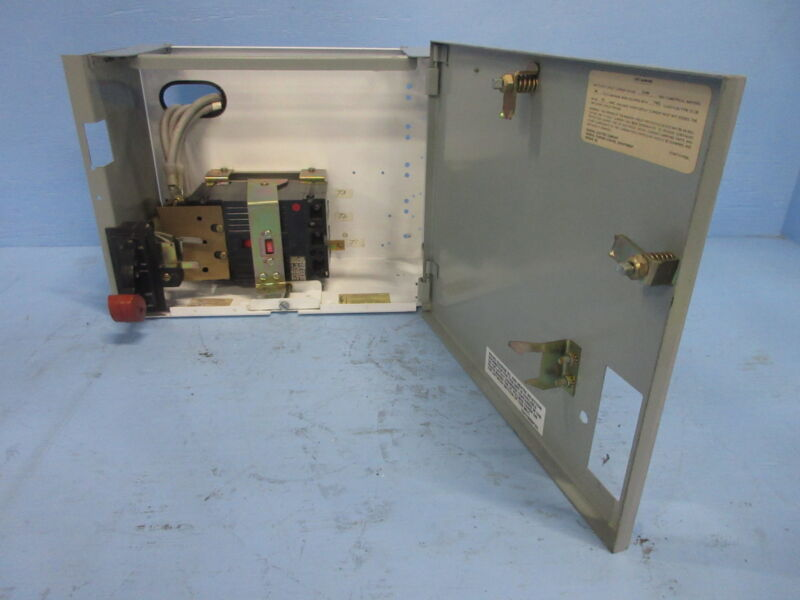 """General Electric GE 8000 150 Amp Breaker Type 12"""" MCC Feeder Bucket 150A THED"""