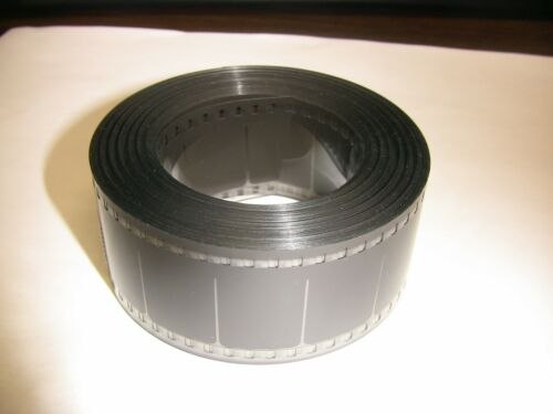 35MM BLACK FILM LEADER with frame lines Mylar (estar) 100FT