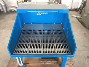 Downdraft table Sanding table Donaldson-Torit 52