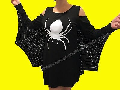 Spiderweb Plus Size Jersey Dress Spider Halloween Costume XL XXL 2XL XXXL - Halloween Costumes New Jersey