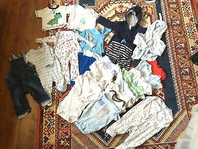 Baby Boys Clothes Bundle Age 6-9 Months