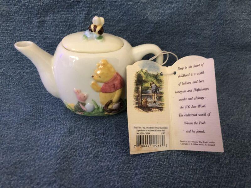 VINTAGE DISNEY CLASSIC POOH & FRIENDS PORCELAIN TEA SET MIDWEST OF CANNON FALLS