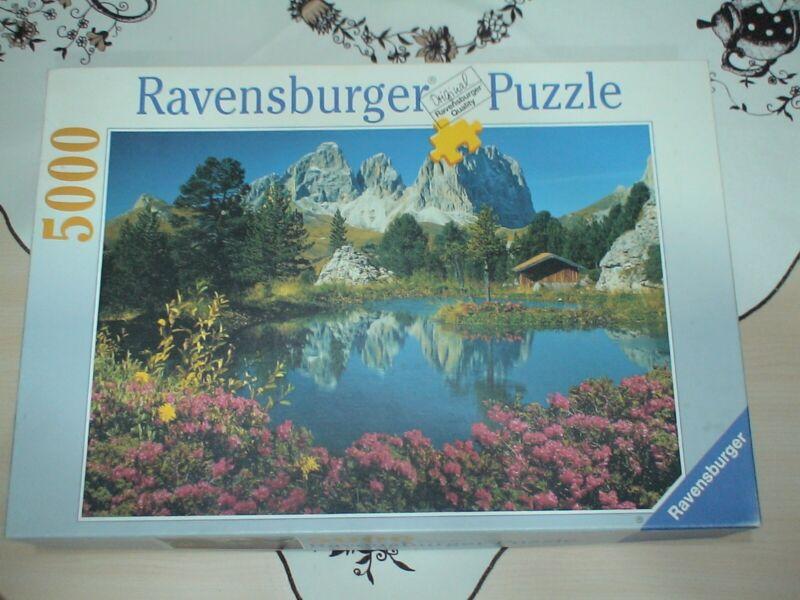 Ravensburger Puzzel Dolomiten: See am Sellapaß 5000 Teile
