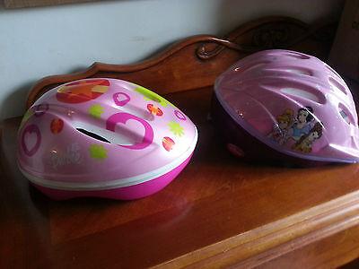 Cycle Helmets x2 (258)