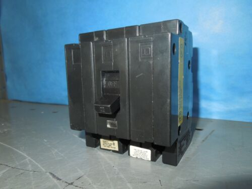 Square D Eh34020 20a 3p 480v 50/60hz Circuit Breaker  Used
