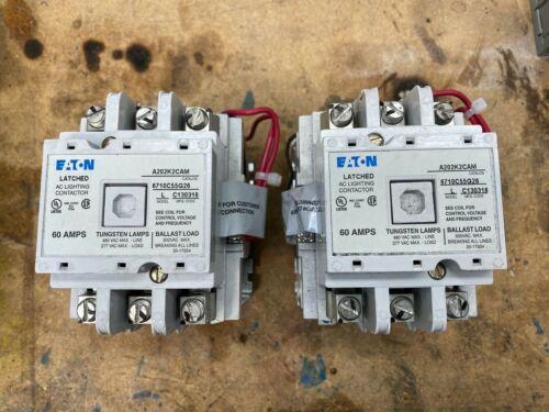 Eaton A202K2CAM Contactor- Lot of two units!! $2981.00 new cost per contactor!