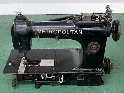 Metropolitan 950C Sewing Machine Wilcox Willcox & Gibbs For Restoration