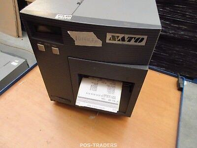 """SATO CL408E Parallel Thermo Label Drucker REWINDER 203dpi 4.1"""" 104mm - 10144.7 M"""