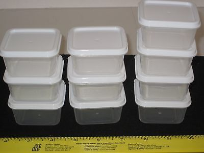 Sure-Fresh Mini Storage Containers & Lid - Arts/Crafts/Nuts/Bolts/Beads/Vitamins
