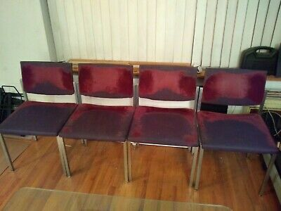 Vintage Steelcase Chairs - Set Of 4