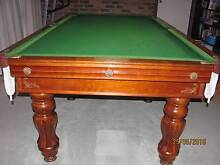 "Billiard - Pool Table ""Astra Brand"" Slate Base Dingley Village Kingston Area Preview"