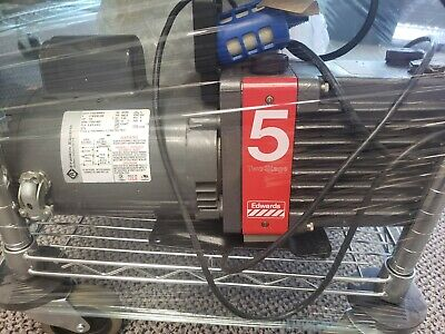 Edwards 5 E2m5 Two-stage High Vacuum Pump