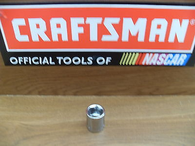 New Craftsman 3 8  6 Pt Point Sae Or Metric Shallow Socket Tools Choose Size