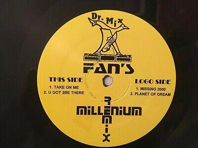 Dr. Mix Fan's Millenium Remix Take on Me Missing 2000 A Ha EBTG