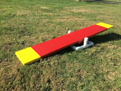 Dog Agility Equipment Teeter Training With 5 ft. Board And Base!