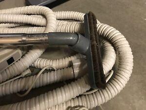Central vacuum attachments/power head