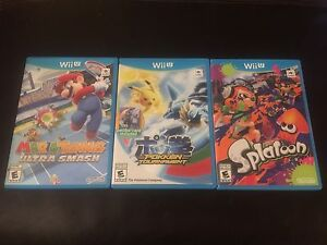 Games, Wii U, Wii, 3DS, DS, Xbox one, PS2, Gameboy, GBA