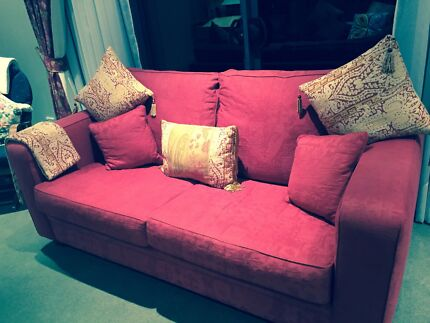 2x 2.5 seater lounge and 1 single armchair Leppington Camden Area Preview