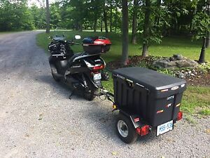 Honda FSC600 Silverwing and Trailer