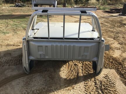 Toyota HIlux sr5 tub with hard lid Young Young Area Preview