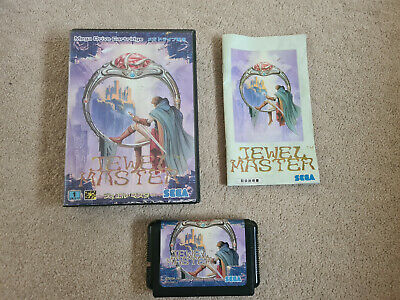 Jewel Master Sega Megadrive System Japan