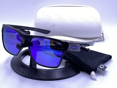Oakley Sunglasses TWOFACE XL OO9350-04 Black/ Violet Iridium (Twoface Xl)