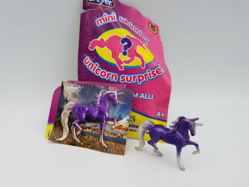 BREYER Mini Whinnies Freedom Series Unicorn Surprise #300196 Aleris