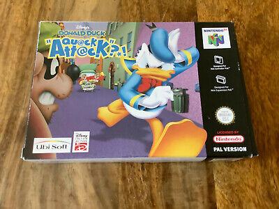 "Nintendo 64 Spiel "" Donald Duck Quack Attack "" N64 | Ovp | Pal | EUR"
