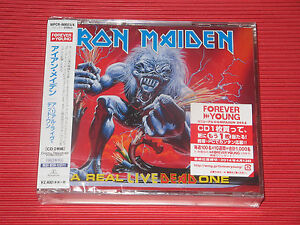 2014 IRON MAIDEN A REAL LIVE DEAD ONE    JAPAN CD