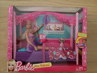 Barbie Glam Bedroom! Furniture Brand New Unopened 2012 RARE