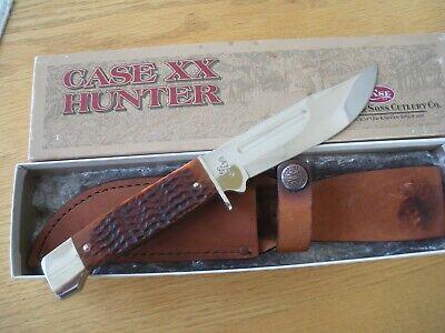 1998 CASE XX KNIFE #647-5SS BONE SLAB SIDE KNIFE NEVER USED BOX