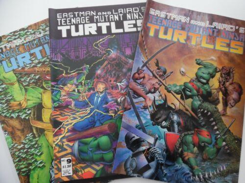 Mirage Studios Teenage Mutant Ninja Turtles (1984) #9 #12 #33 - 3 comic lot