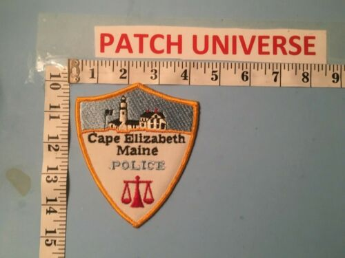 CAPE ELIZABETH  MAINE POLICE  SHOULDER PATCH  M037