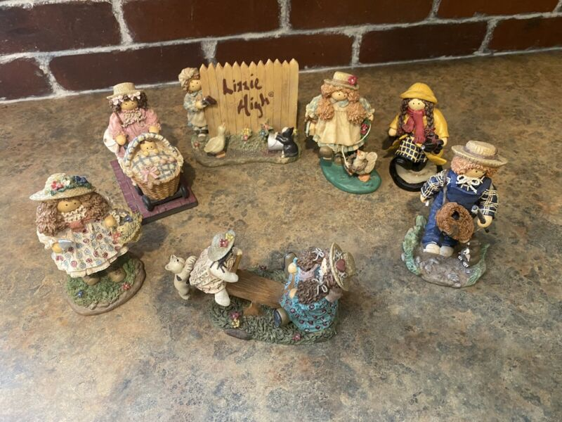 Lot of 7 Resin Lizzie High Figures