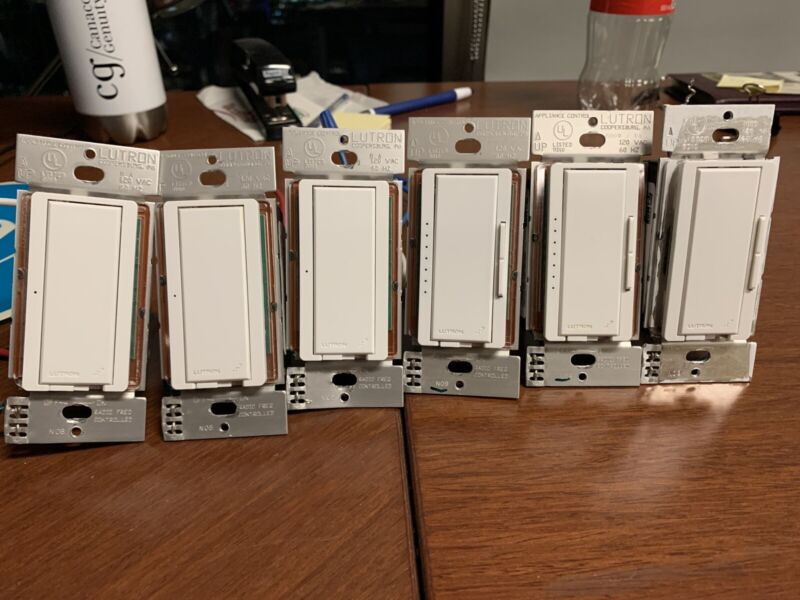 Lot Of Lutron Home Works Switches And Dimmers