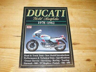 Ducati 1978-1982 - Gold Portfolio  Brooklands Road Test Book.