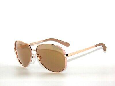 Michael Kors Chelsea 5004 1017R1 Taupe Rose Gold  Mirror Sunglasses
