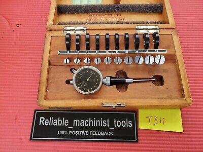 Alina Split Bore Hole Inside Micrometer Gage .42 To .78 .0001 Grad Machinis T311