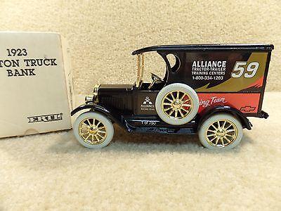 1992 Ertl 1 25 Diecast Robert Pressley Alliance 1923 1 2 Ton Truck Bank A