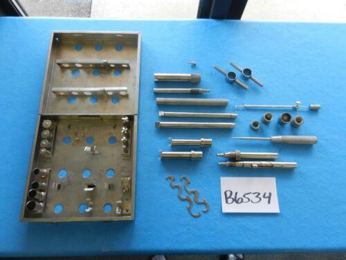 Cloward Surgical Orthopedic Anterior Cervical Instrument Set W/ Case
